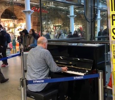 Infinite Piano - St Pancras - November 2018