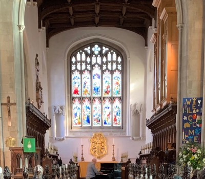 Great St Mary's Church Cambridge - February 2019