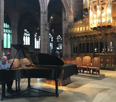 Manchester Cathedral June 2018